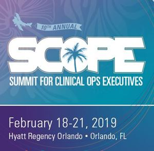 Picture of SCOPE - Summit for Clinical Ops Executives 2019 - CD
